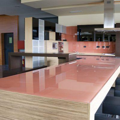 Image Of Glass Worktops